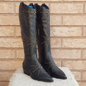 🆕️ 1.State Sabylla Studded Western Boots